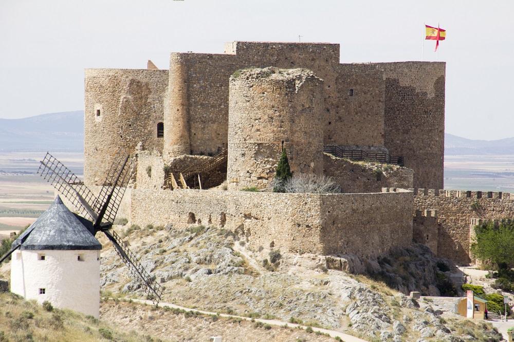 Castillo de Consuegra - Turismo en La Mancha