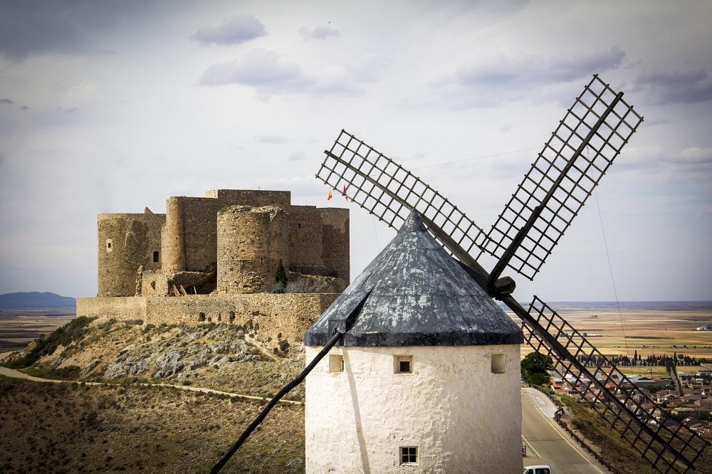 Molinos y Castillo de Consuegra