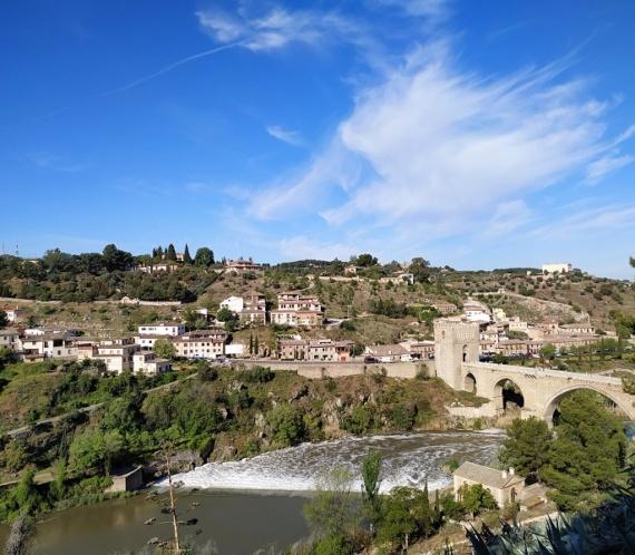 Puente San Pablo en Toledo