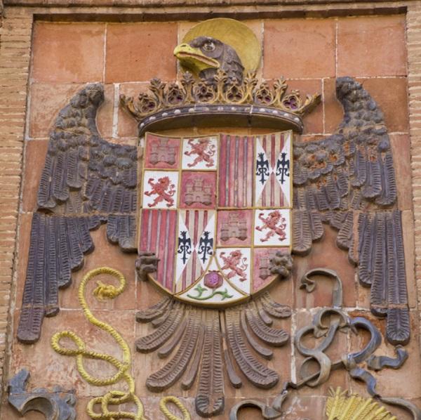 Escudo Reyes Católicos en Toledo