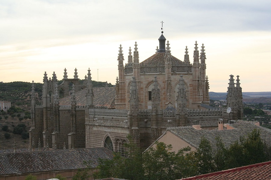 Vista exterior Monasterio San Juan de los Reyes