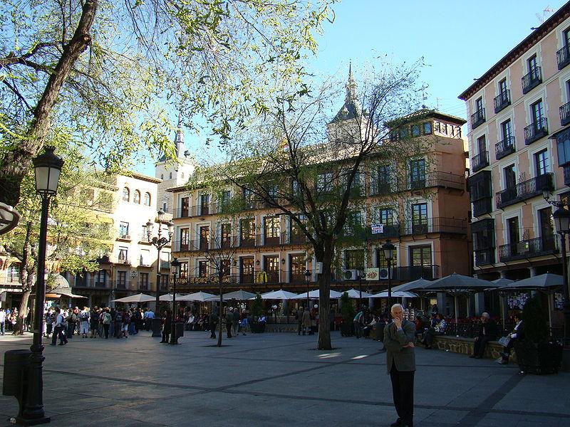 Vista general Plaza de Zocodover