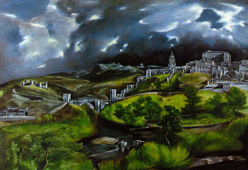 Cuadro del artista El Greco